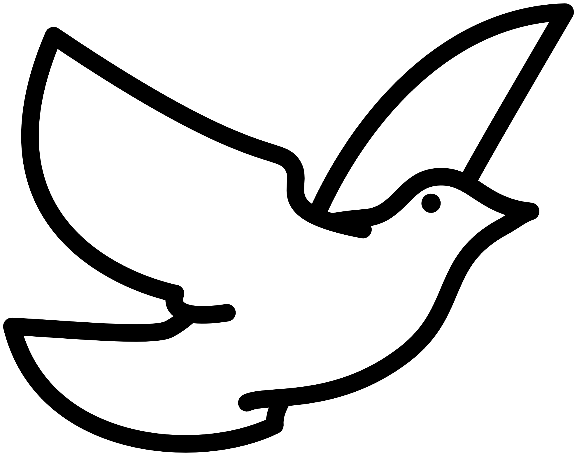 1979x1566 Wonderful Peace Dove Coloring Page Excellent P Unknown Dove