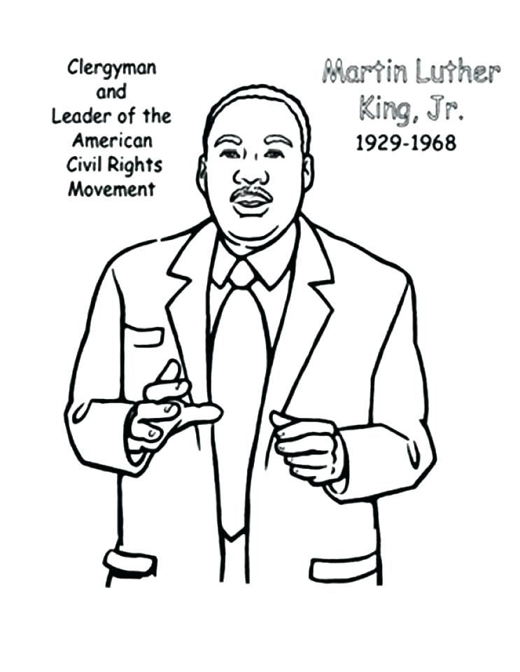 743x960 Martin Luther King Coloring Articles With Martin King Jr Coloring