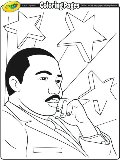 420x560 Coloring Pages For Martin Luther King Jr Coloring Pages For Martin