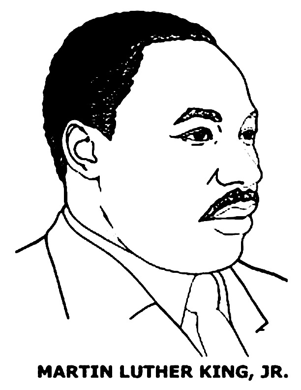 612x792 Martin Luther King Coloring Book