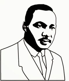 236x279 Martin Luther King Jr Coloring Page From Usa Printables