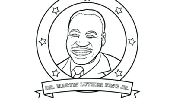 580x326 Coloring Pages For Martin Luther King Jr Coloring Sheets Dr Martin