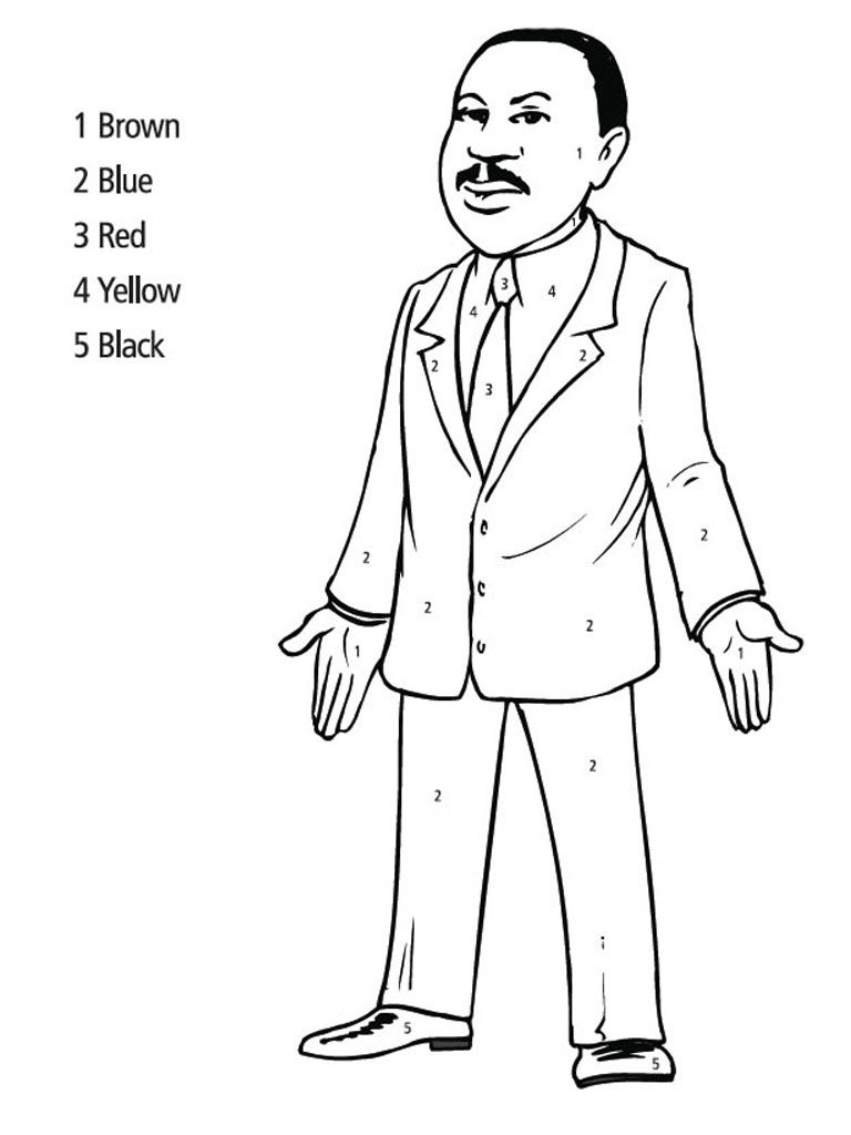 768x1024 Martin Luther King Jr Coloring Pages Martin Luther King Jr