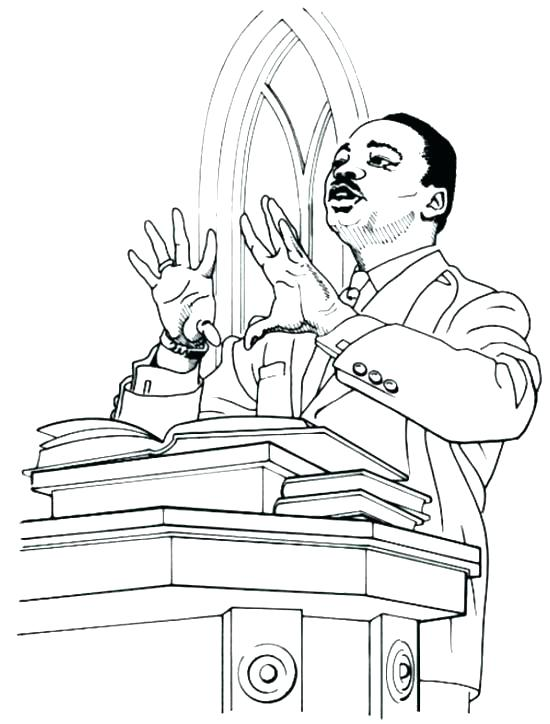 550x724 Dr Martin Luther King Coloring Pages Best Of Martin Ki Jr Colori