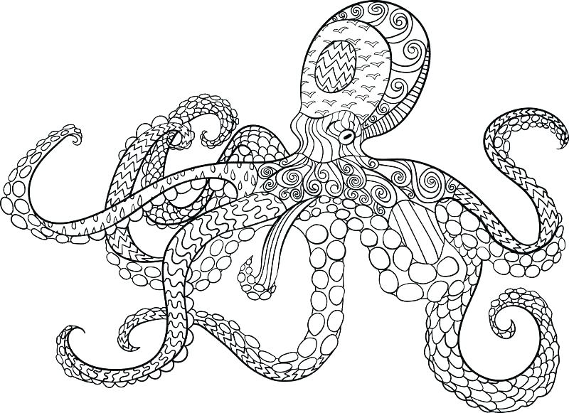 Dr Octopus Coloring Pages