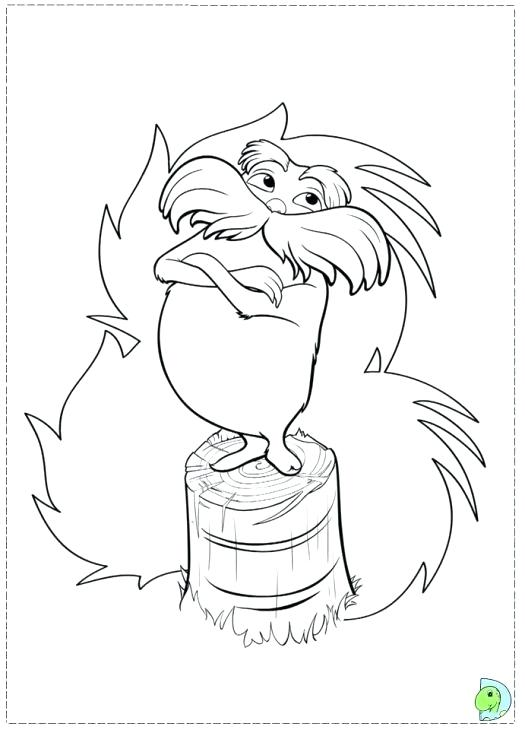525x730 Dr Seuss Characters Coloring Pages Printable The Coloring Page