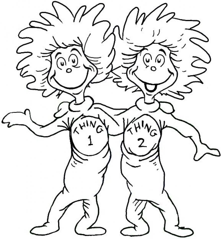 890x960 Dr Seuss Coloring Pages New Dr Seuss Characters Coloring Pages Az
