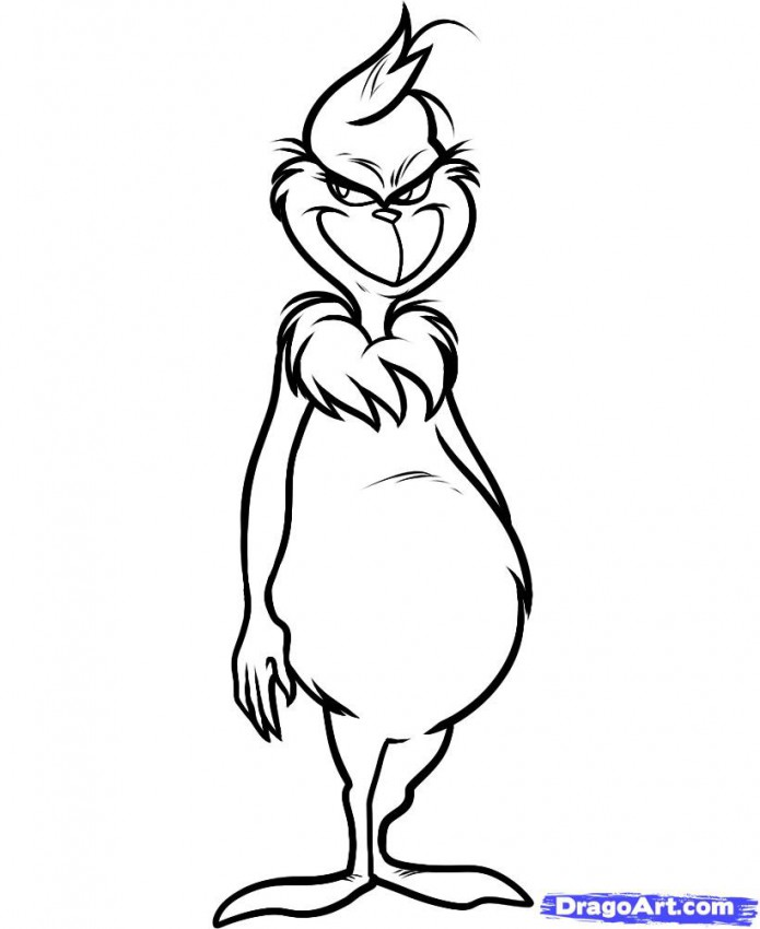 695x850 Dr Seuss Characters Coloring Pages