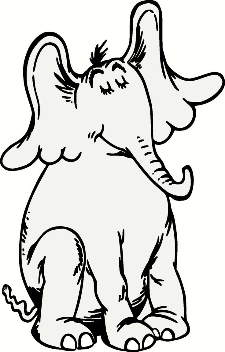 736x1148 Horton Hears A Who Characters Coloring Pages