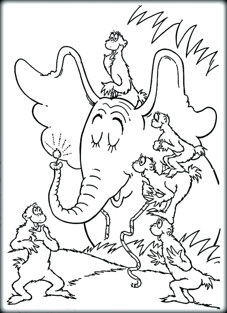 743x1024 Dr Seuss Coloring Pages Cat In The Hat