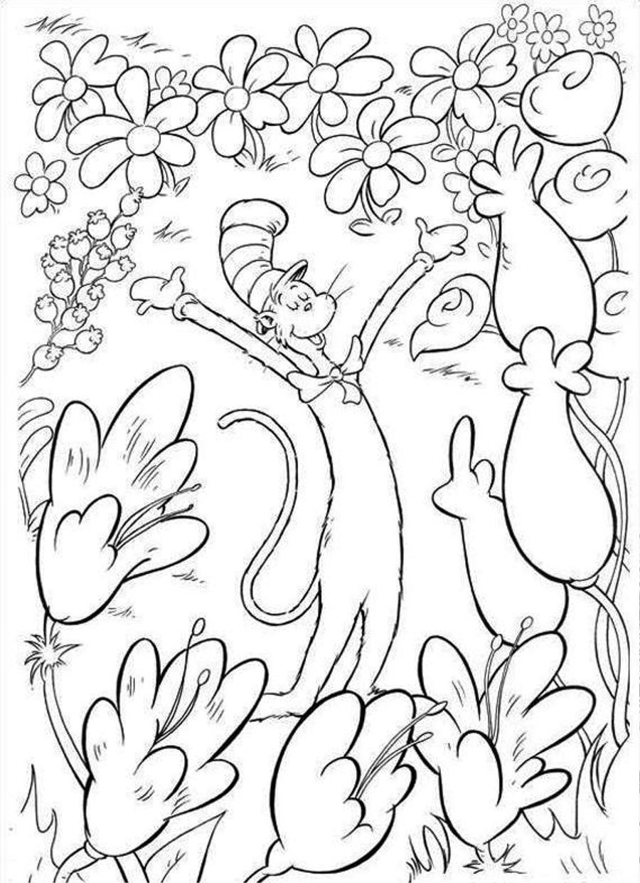 900x1240 Dr Seuss Coloring Pages Free Coloring Pages For Kids Coloring Dr