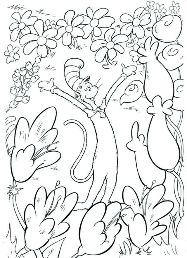 640x881 Dr Seuss Coloring Pages Printable Free Coloring Pages Cat