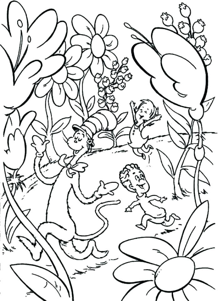 697x960 Dr Seuss Coloring Pages Printable Free Cool Ring Pages Image
