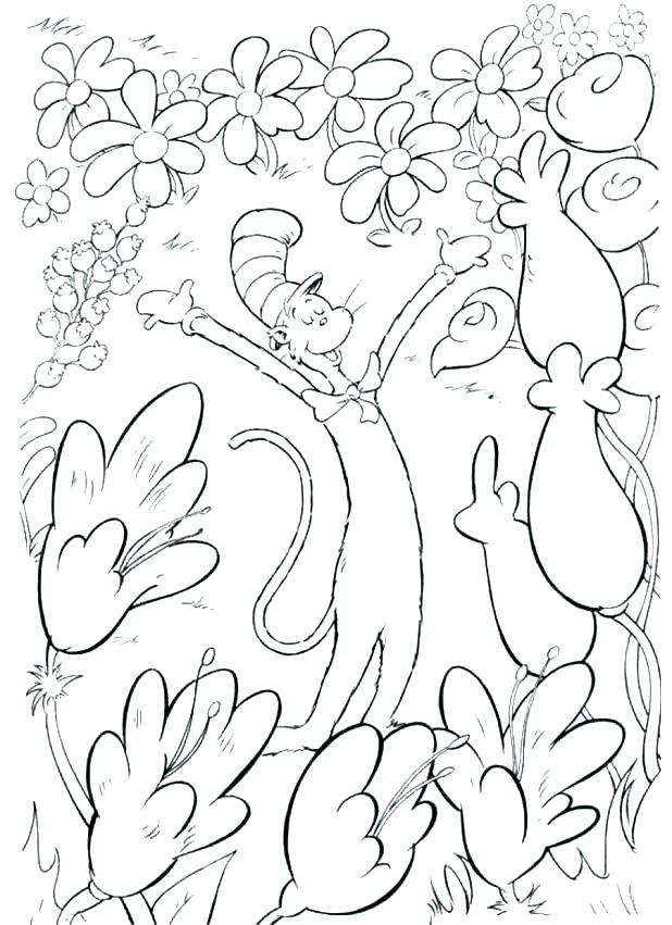 618x851 Beautiful Dr Seuss Coloring Pages Printable Or Good And Blank
