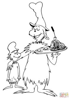 236x333 Dr Seuss Coloring Pages Celebrate Dr Seuss's Birthday With Your