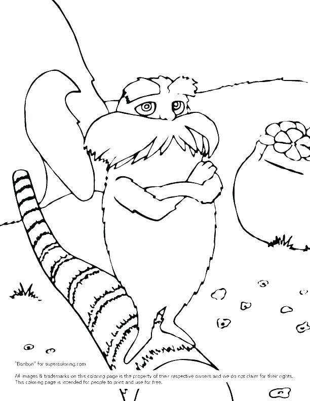 612x792 Free Dr Seuss Coloring Pages Printable