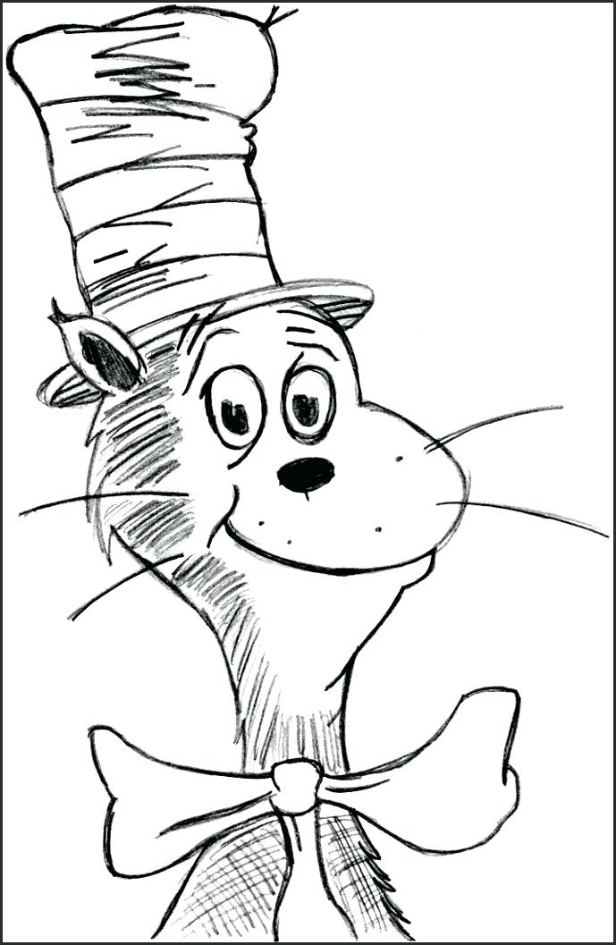 689x1057 Dr Seuss Hat Coloring Page Free Printable Coloring Pages Coloring