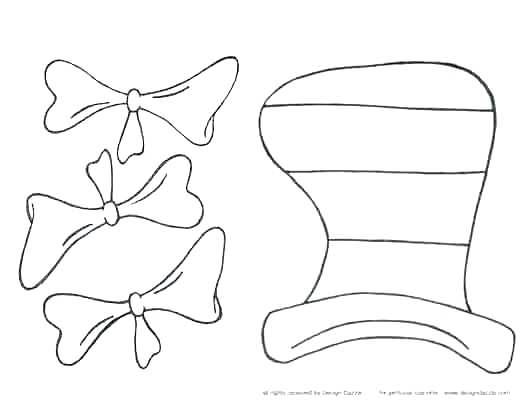 520x400 Appealing Dr Seuss Hat Coloring Page Best The Cat In The Hat