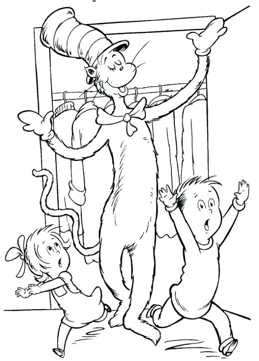 520x724 Dr Suess Coloring Pages