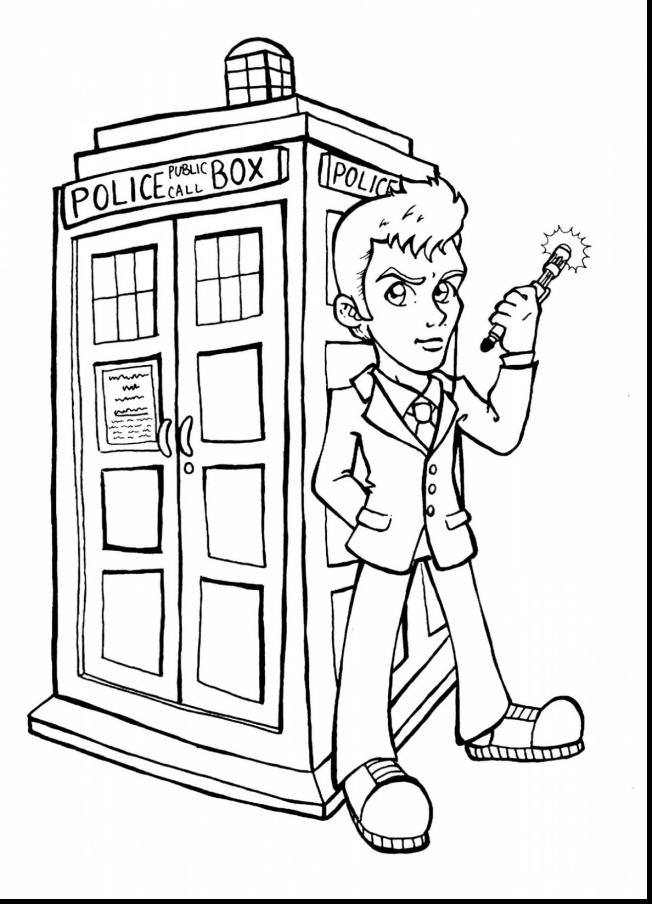 1271x1760 Dr Who Coloring Pages