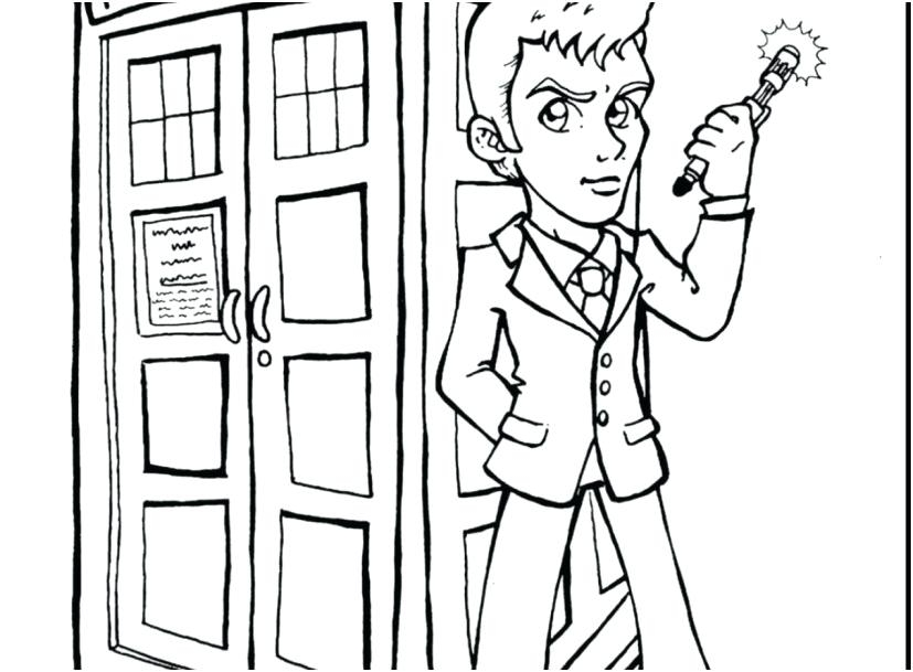 827x609 Dr Who Coloring Pages Dr Who Coloring Coloring Pages Printable