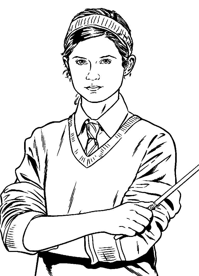 Draco Malfoy Coloring Pages At Getdrawings Com Free For