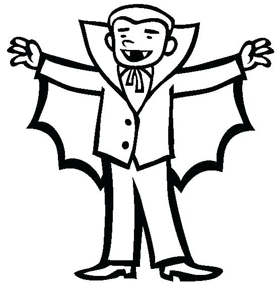 554x565 Dracula Coloring Pages