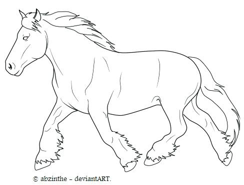 488x369 Draft Horse Coloring Pages Draft Horse Coloring Pages Draft