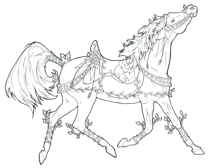 736x590 Free Horse Coloring Pages Spirit Coloring Pages To Print Free