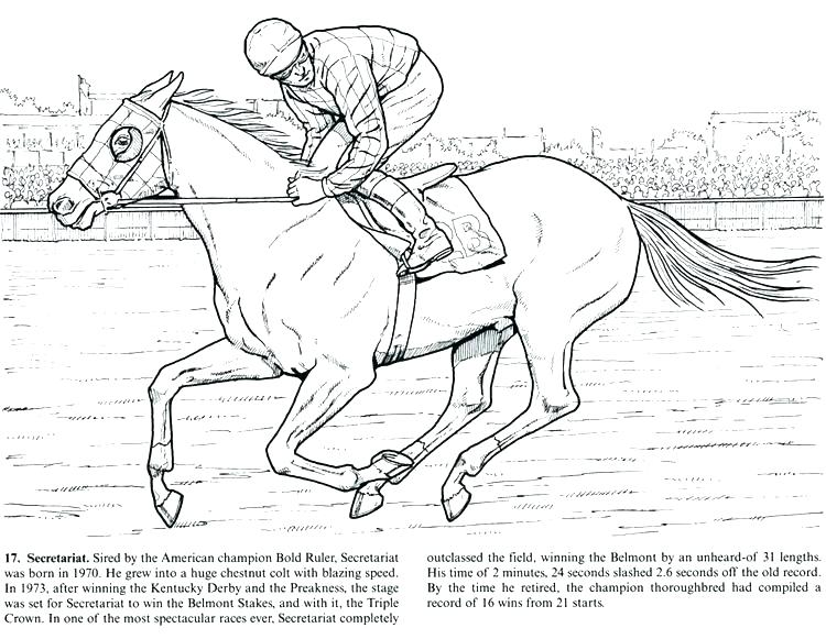 750x581 Racing Coloring Pages Draft Horse Coloring Pages Horse Racing