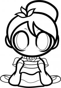 210x302 How To Draw Chibi Disney Princess Chibi And Princess