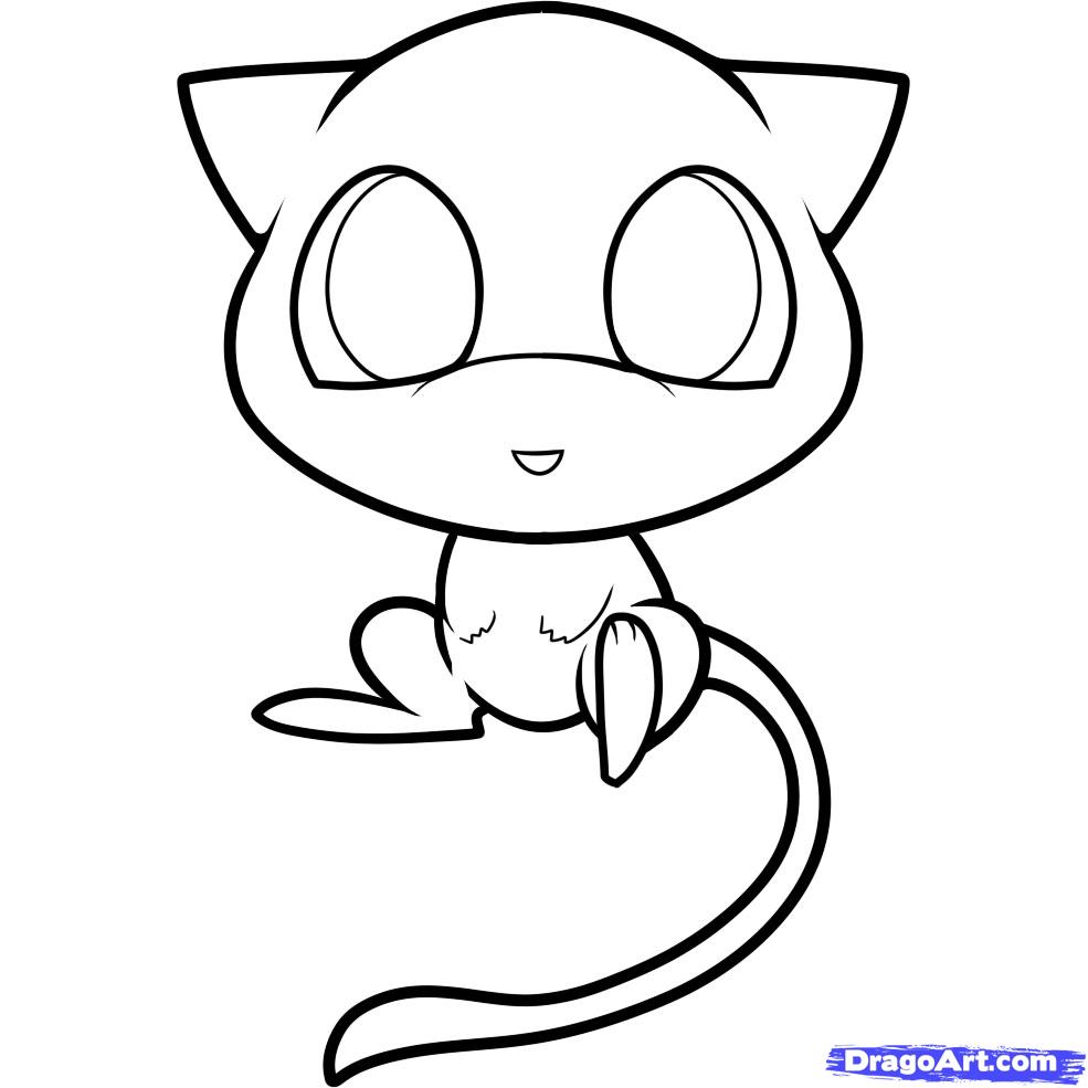 985x985 Chibi Pokemon Coloring Pages