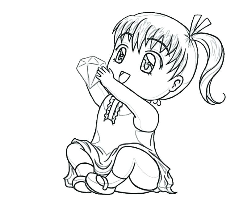 800x667 Chibi Coloring Page On Anime And Girl Coloring Pages Anime Chibi