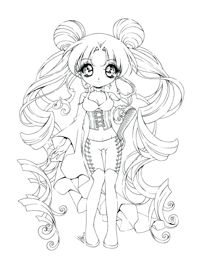 Dragoart Chibi Coloring Pages At Getdrawingscom Free For Personal