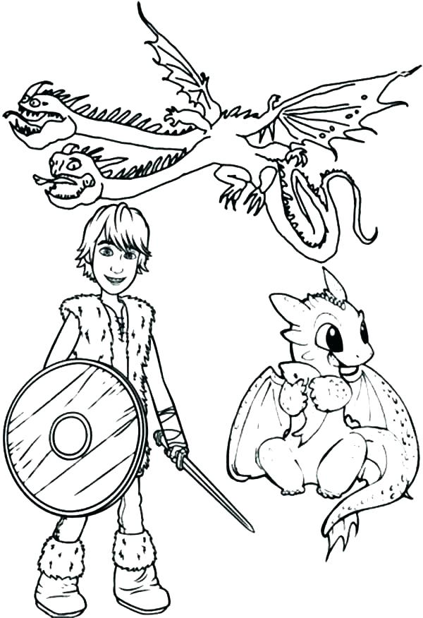 600x876 How To Train Your Dragon Coloring Pages Toothless Baby Colouring