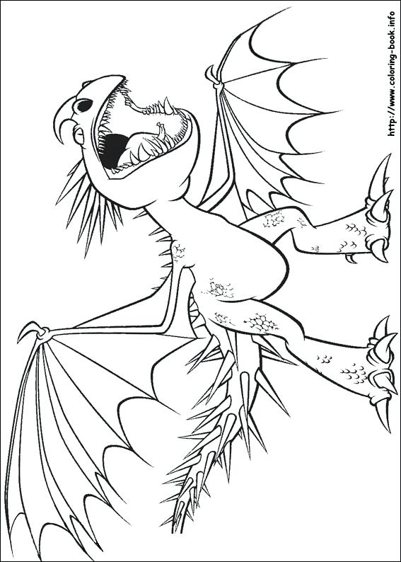 567x794 How To Train Your Dragon Toothless Coloring Pages