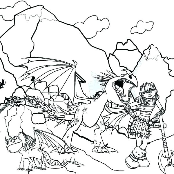 600x600 Coloring Pages How Train Your Dragon Coloring Pages How