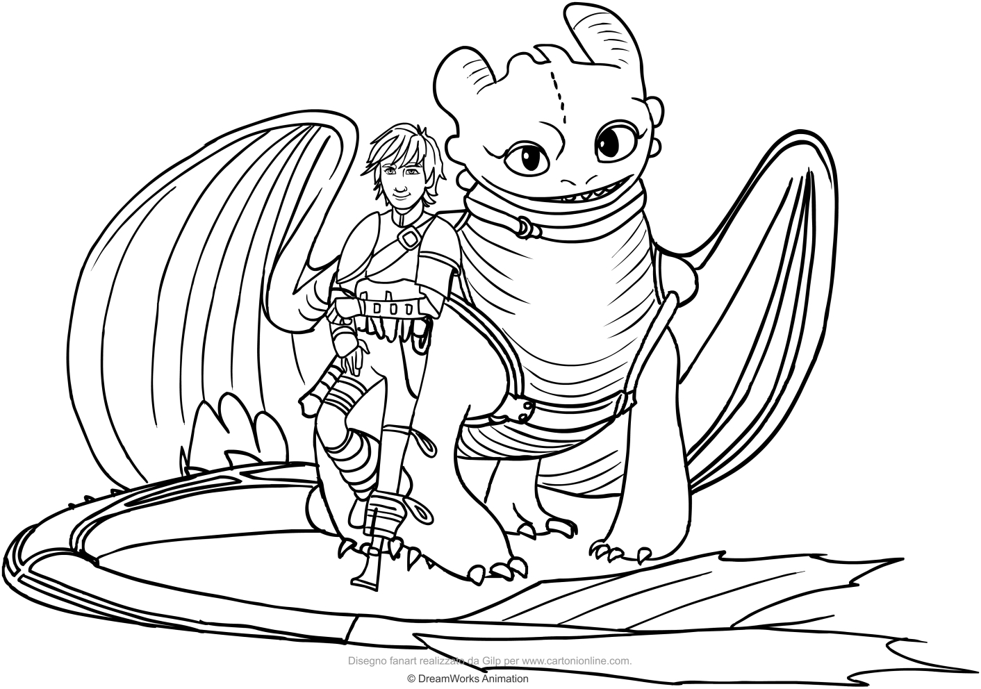1412x992 Sampler Hiccup And Toothless Coloring Pages Ho