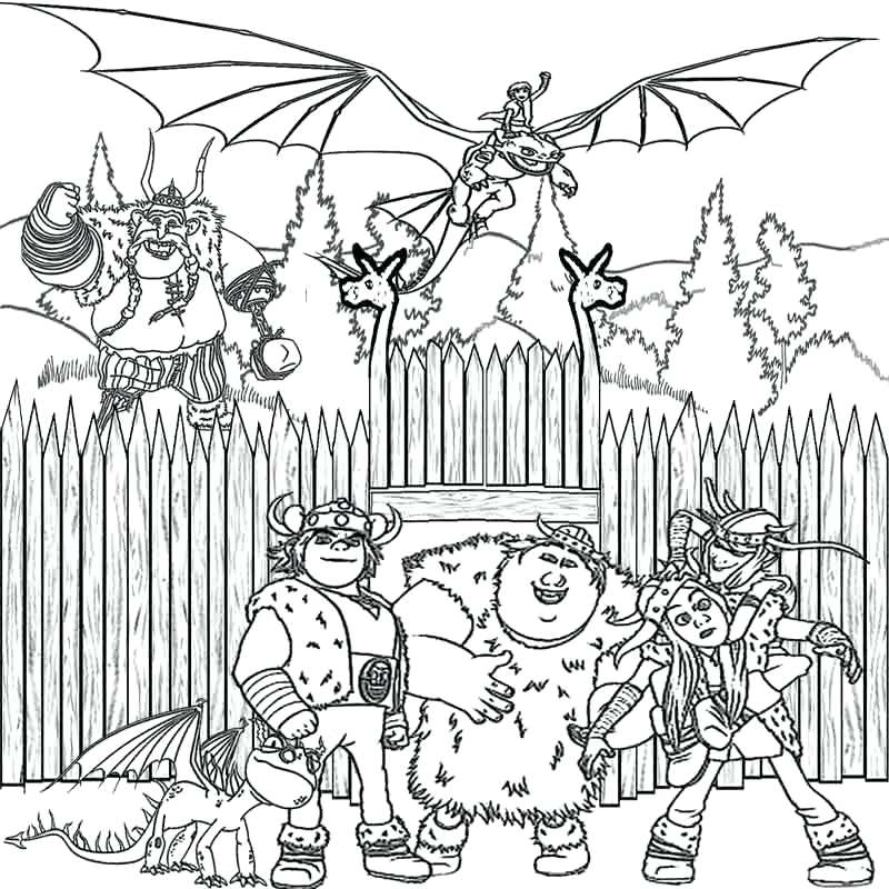 800x800 Coloring Pages Of How To Train Your Dragon How To Train Your