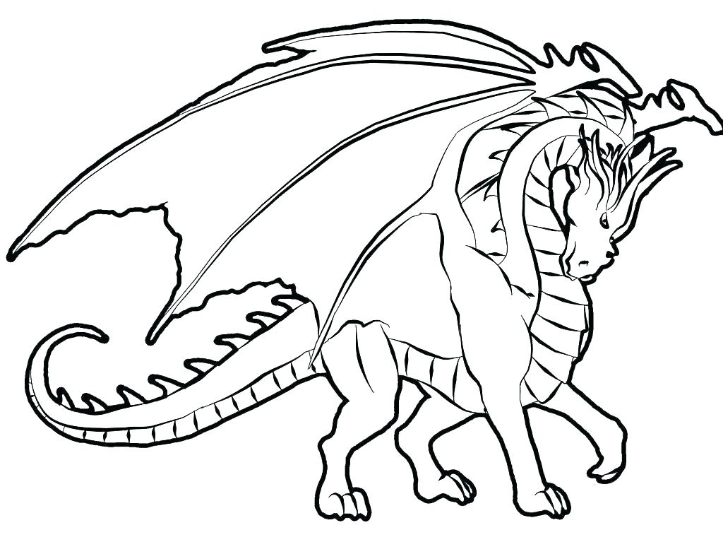 1024x767 Dragon Coloring Pages Advanced Coloring Pages Dragons Coloring