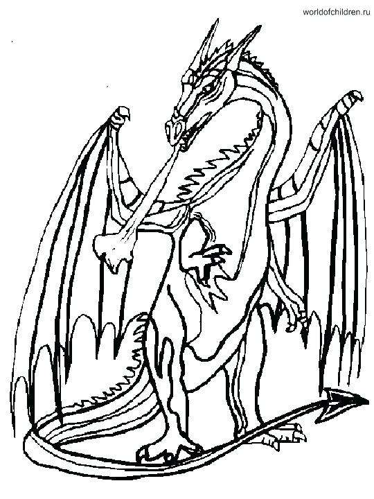 540x720 Free Printable Dragon Coloring Pages For Adults As Well Of Dragons