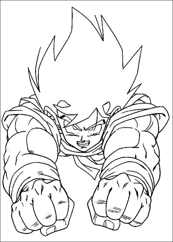 Dragon Ball Coloring Pages at GetDrawings.com | Free for ...