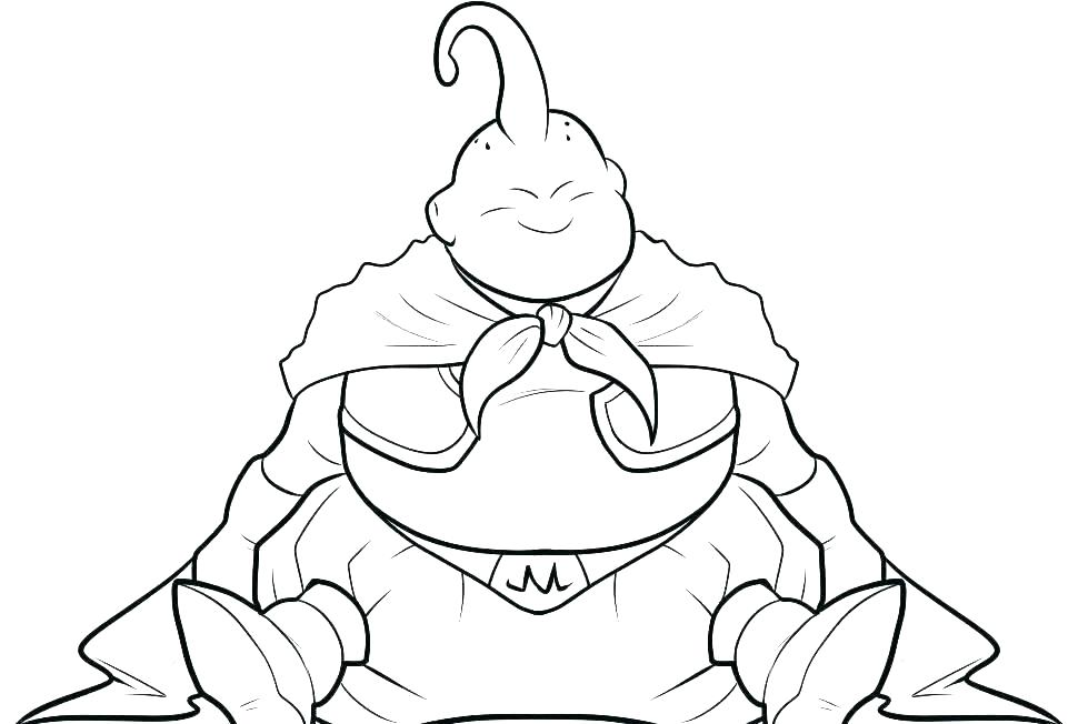 Dragon Ball Coloring Pages At Getdrawings Free Download