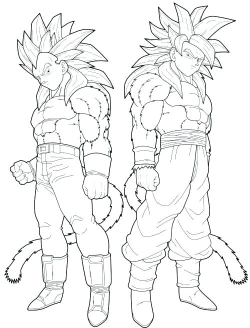 500x656 Dragon Ball Gt Coloring Pages Dragon Ball Gt Coloring Pages