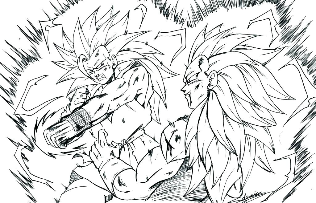 1024x659 Dragon Ball Z Coloring Book Coloring Pages Dragon Ball Gt Coloring
