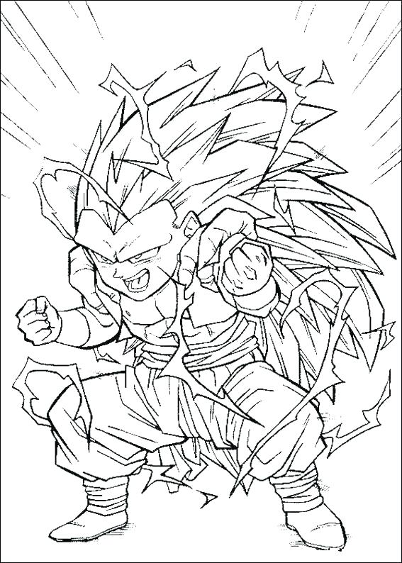 567x794 Dragon Ball Z Coloring Pages To Print Dragon Ball Gt Coloring Book