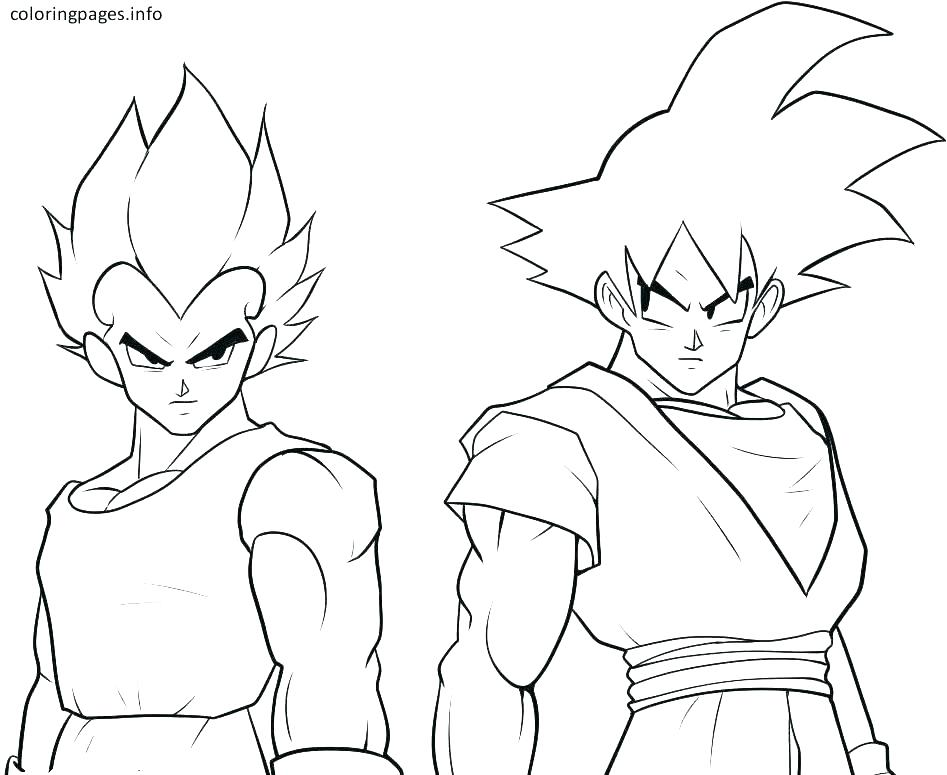 947x775 Dragon Ball Z Kai Coloring Pages Dragon Ball Gt Coloring Pictures