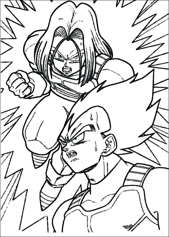 567x794 Coloring Pages Dragon Ball Z Dragon Ball Gt Coloring Pages Goku