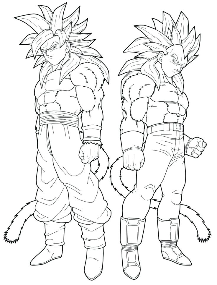 736x964 Ideas Dragon Ball Gt Coloring Pages For Dragon Ball Gt Coloring