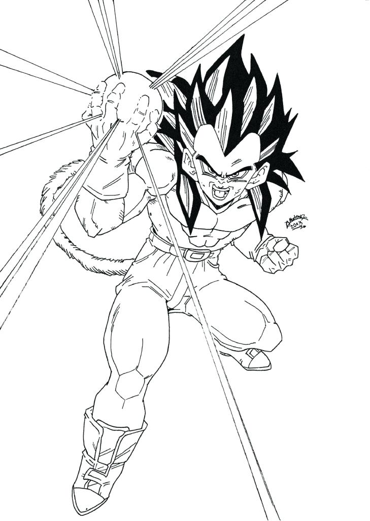 729x1024 Luxury Dragon Ball Gt Coloring Pages For Top Dragon Ball Gt